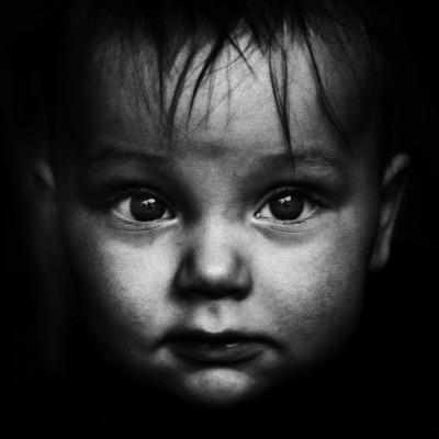 2.Black & white portraits